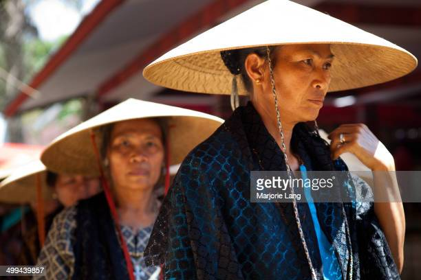 CONTENT] Women during the procession at a funeral held in june 2011 in Rantepao countryside in Tana Toraja country Sulawesi Indonesia