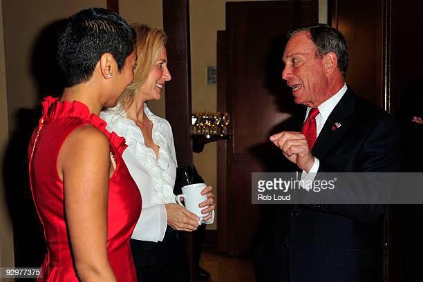 Women for Women Internation founder Zainab Salbi Andi Bernstein and New York City Mayor Michael Bloomberg attend the Women For Women International...