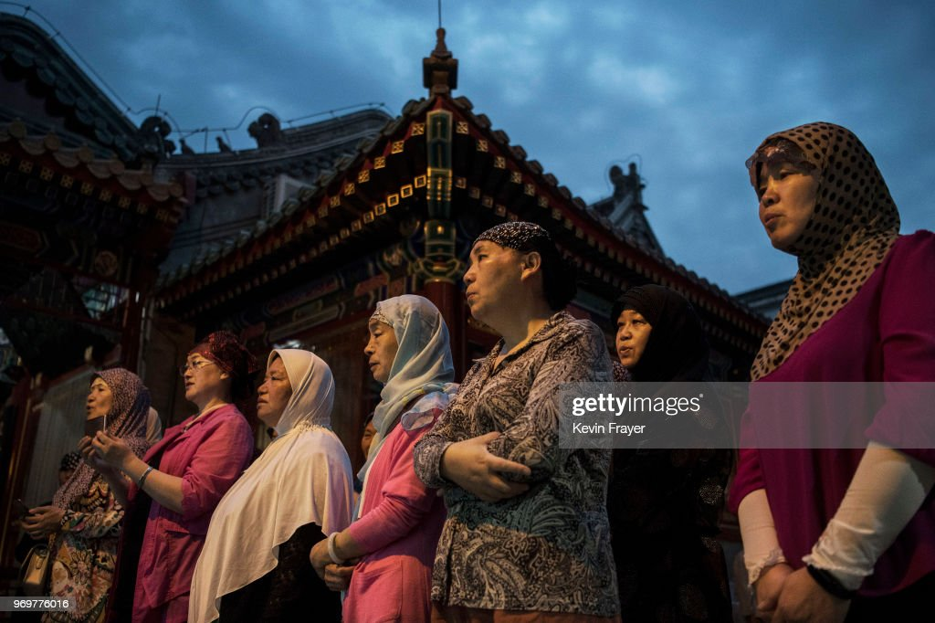 China's Hui Muslims Mark Ramadan : Nieuwsfoto's