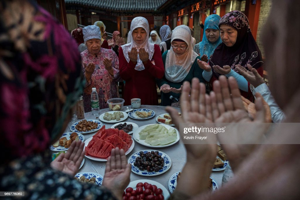 China's Hui Muslims Mark Ramadan : News Photo