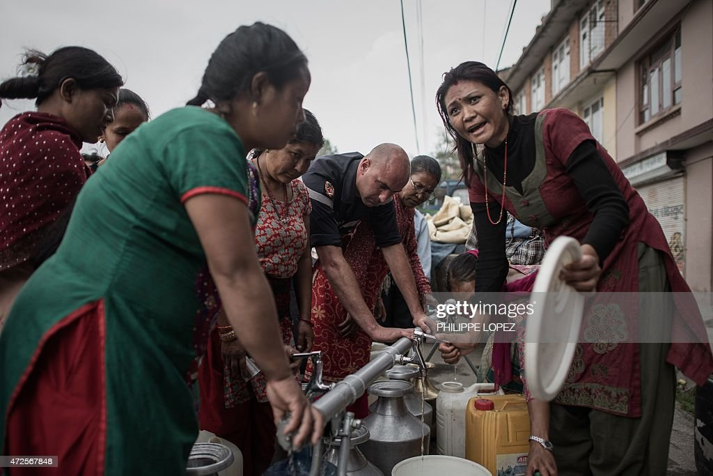 NEPAL-QUAKE : News Photo