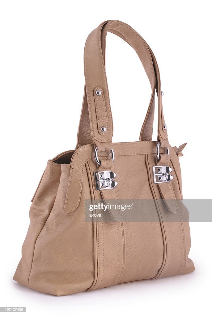 Mujeres handbag (Clipping path (Borde de corte)) : Foto de stock