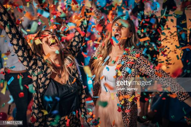 women having fun at a party - photography themes stock pictures, royalty-free photos & images