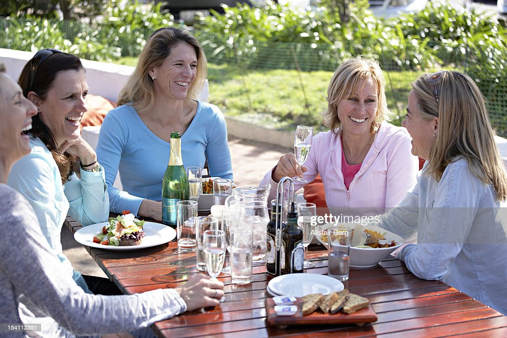Women having fun together : Stock Photo