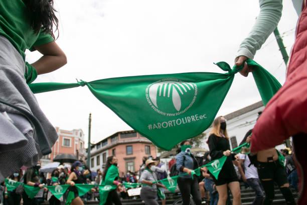 ECU: Demonstrations Prior To International Women's Day In Ecuador