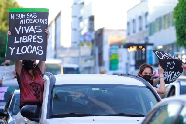 MEX: International Women's Day Demonstration In Queretaro