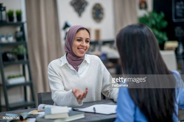 Women In A Home Office
