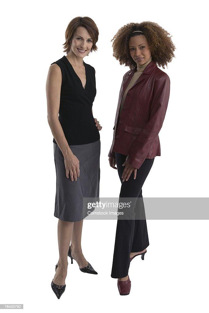 Women in business attire : Stockfoto