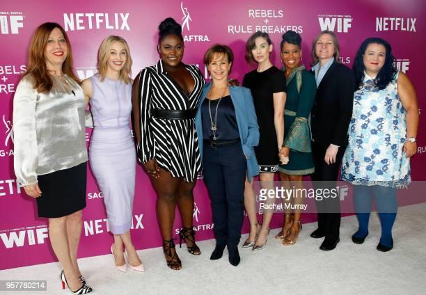 Women in Film Executive Director Kirsten Schaffer Sarah Gadon Danielle Brooks Alison Brie Regina King Netflix VP of Original Content Cindy Holland...