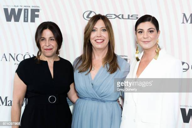 Women In Film Los Angeles Incoming Board President Amy Baer WIF LA Executive Director Kirsten Schaffer Max Mara Vice President US Retail and Global...