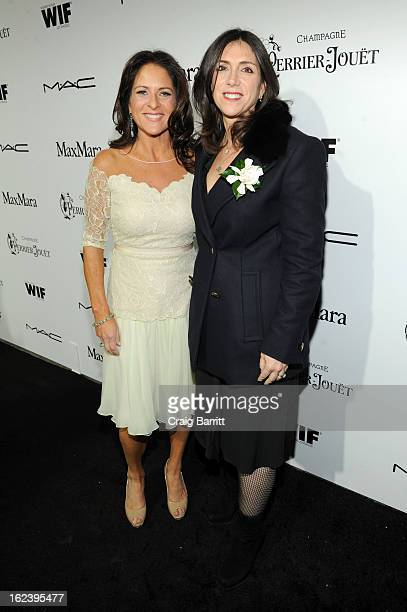 Women In Film President Cathy Schulman and producer Stacey Sher attend the 6th Annual Women In Film PreOscar Party hosted by Perrier Jouet MAC...