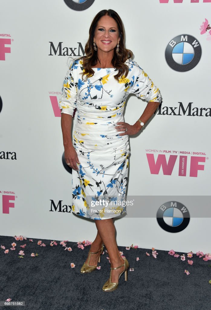 Women in Film's Cathy Schulman attends the Women in Film 2017 Crystal + Lucy Awards Presented by Max Mara and BMW at The Beverly Hilton Hotel on June 13, 2017 in Beverly Hills, California.