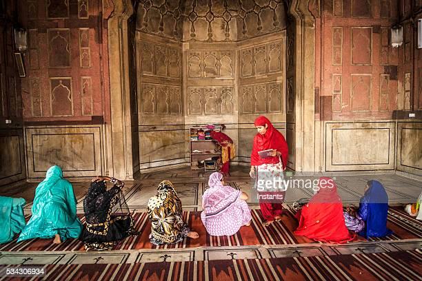 Women in Jama Masjid Mosque