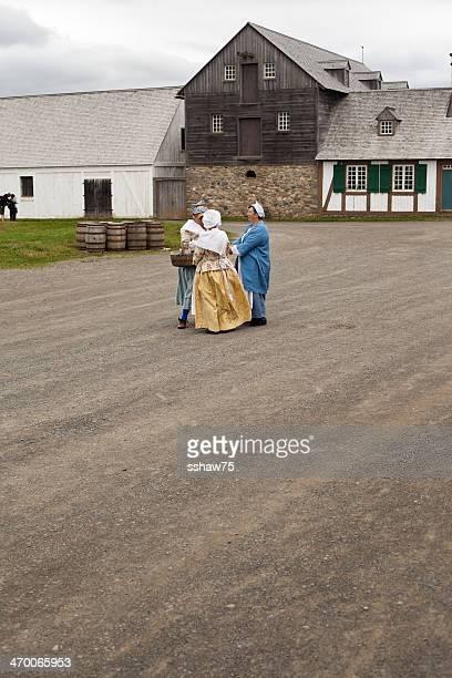 Women in Period Costumes