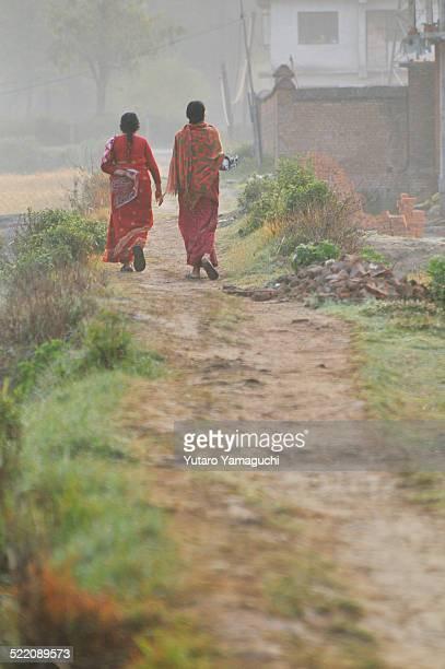 Women in Sari