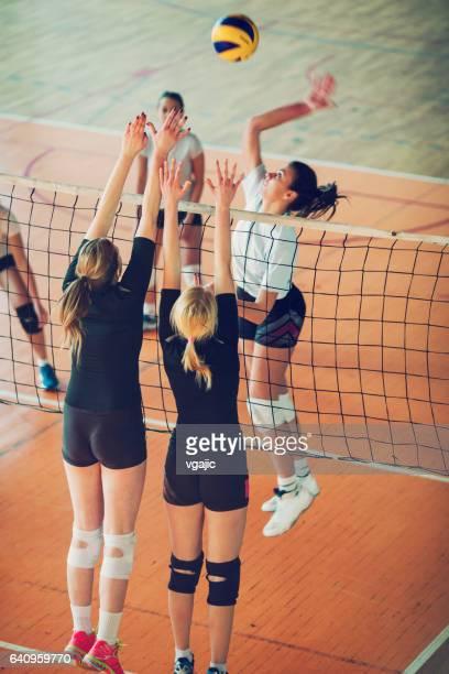 Mujeres en el deporte - voleibol