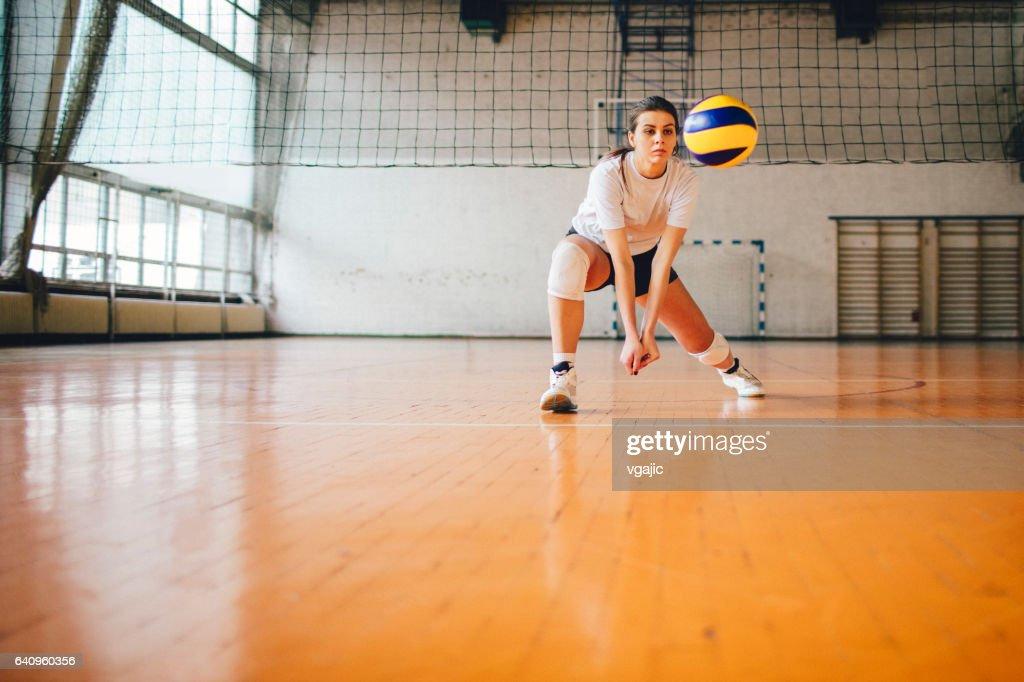Frauen im Sport - Volleyball : Stock-Foto