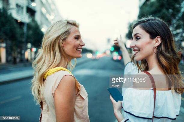 women in the city - balkans stock photos and pictures