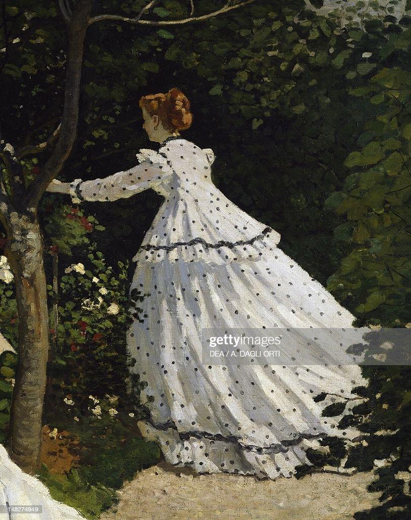 Women In The Garden 18661867 By Claude Monet Detail Paris Musée Du0027Orsay