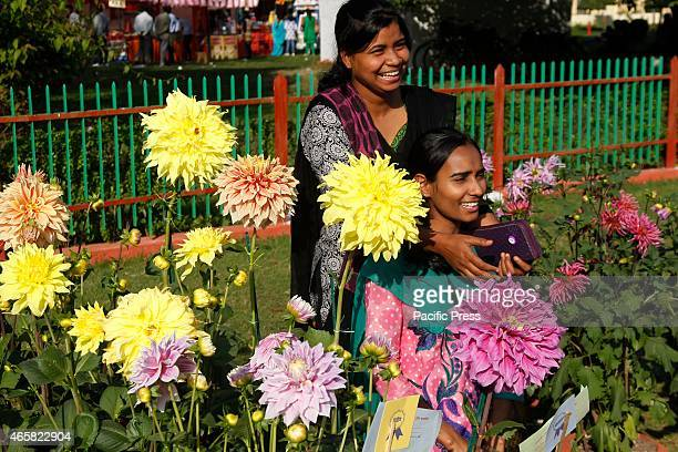 Women in the two days flower show in Allahabad At this time Allahabad was a highly peaceful city and one reason for this was the greenery all around...