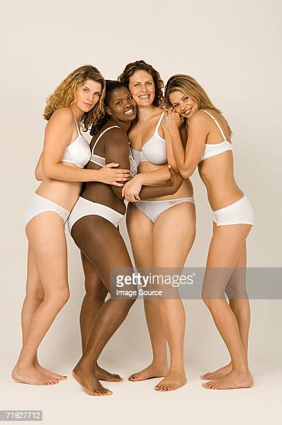 Women in underwear