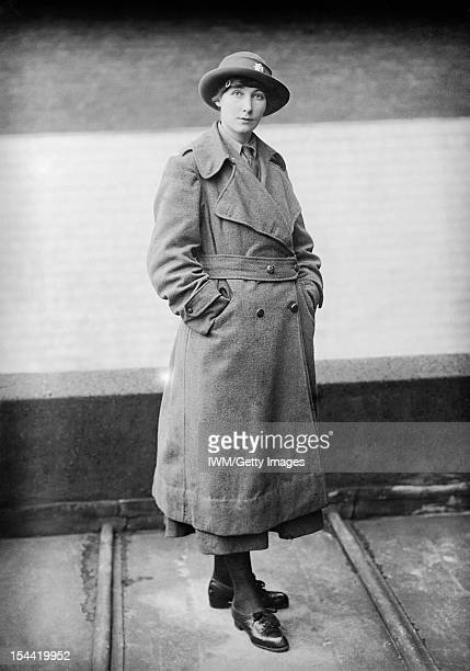 Women In Uniform During The First World War A fulllength portrait of a female Army Service Corps driver wearing winter uniform circa 1916