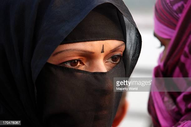 Women in veil Bangladesh March 20 2009