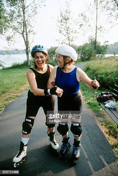 Women Inline Skating