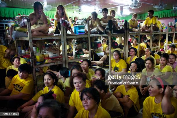Women Jail in Quezon City Made for 56 and now has 911 inmates