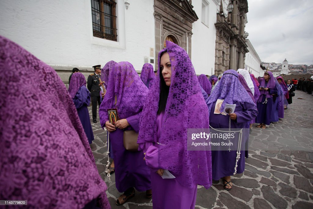 ECU: Jesus Of The Great Power Procession In Quito