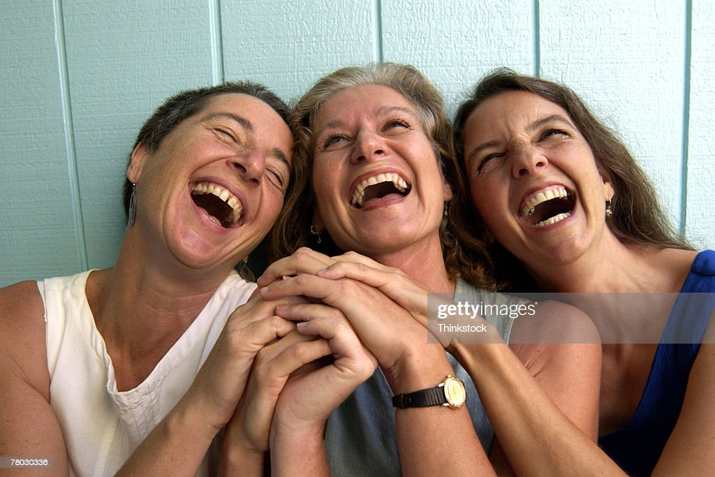 Women laughing : Stock Photo