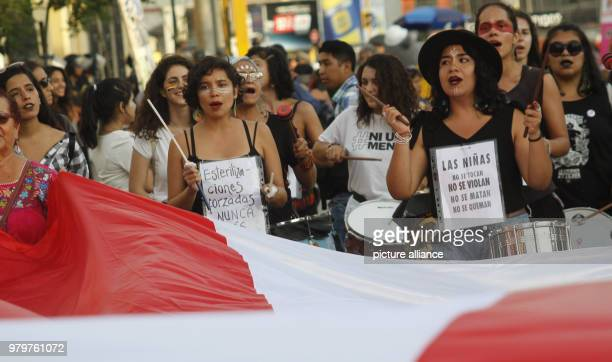 Women march during a protest on the 2018 International Women's Day in Mexico City mexico 08 March 2018 Photo Antonio Rodriguez/dpa