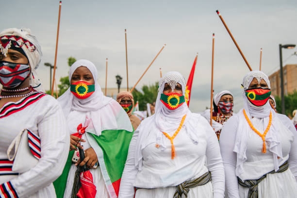 MN: Minneapolis's Oromo Community Joins Worldwide March Against Violence In Ethiopia