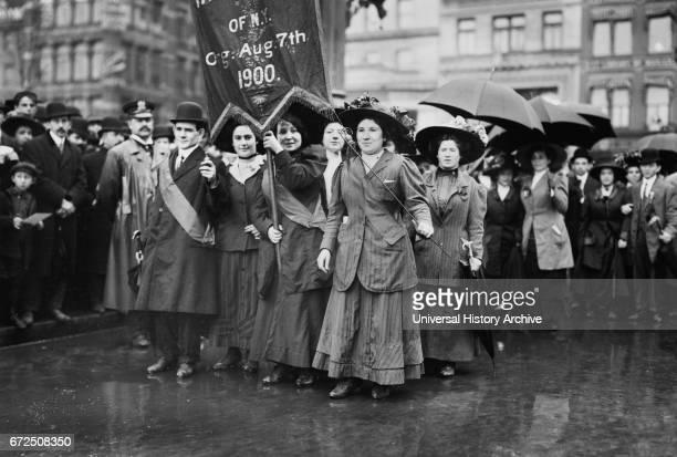 Women Marchers May Day Parade New York City New York USA Bain News Service May 1 1909