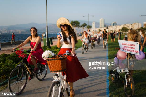 women meeting at alsancak-izmir, turkey - izmir stock pictures, royalty-free photos & images
