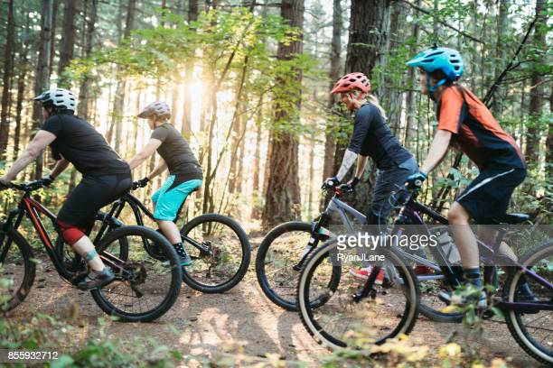 Women Mountain Biking Team