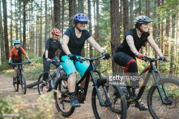 Women Mountain Biking Team