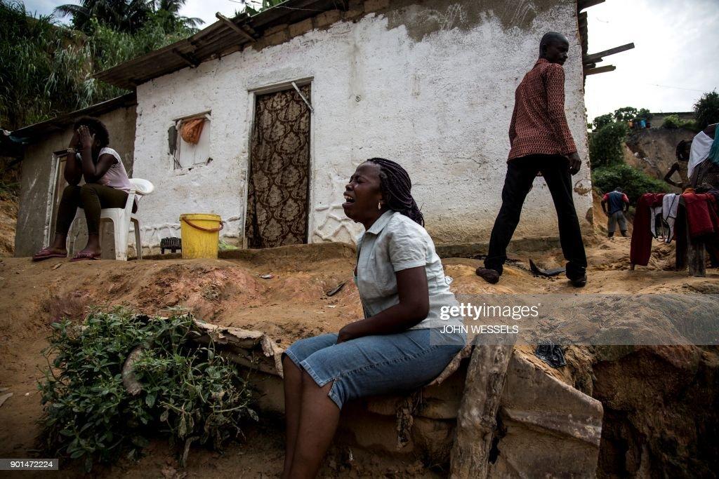 TOPSHOT-DRCONGO-FLOOD : News Photo