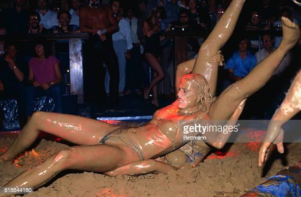 Women Mud Wrestling