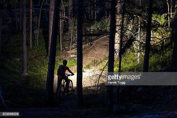 Women Night biking