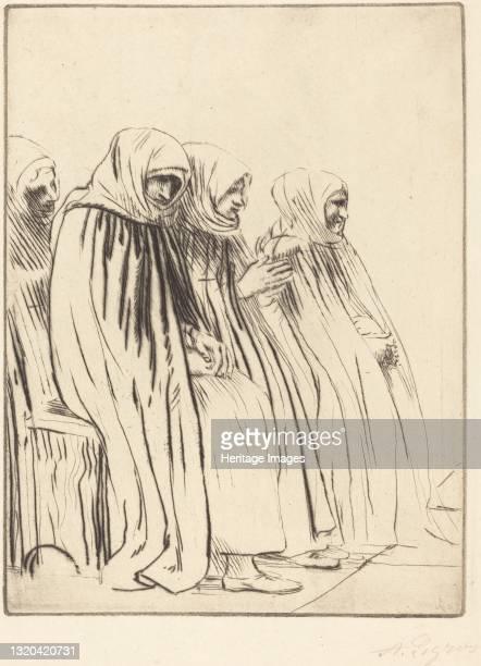 Women of Brussels . Artist Alphonse Legros.