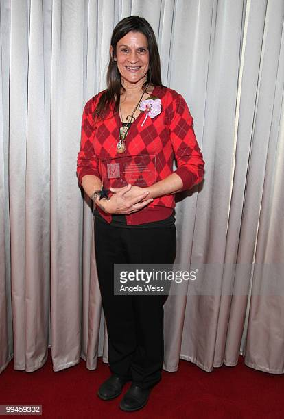 Women of Distinction Honoree Aileen Getty poses at the 17th annual 'Women Of Distinction' Awards luncheon at the W Hollywood Hotel on May 14, 2010 in...