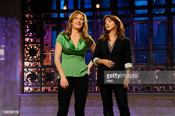 Women of SNL-- Pictured: Ana Gasteyer, Cheri Oteri -- Photo by: Dana Edelson/NBC
