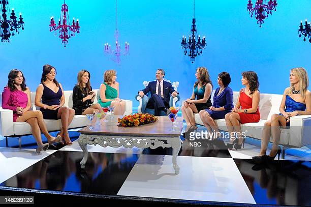 Women of SNL-- Pictured: Molly Shannon, Maya Rudolph, Tina Fey, Andy Cohen, Ana Gasteyer, Rachel Dratch, Cheri Oteri, Kristen Wiig -- Photo by: Dana...