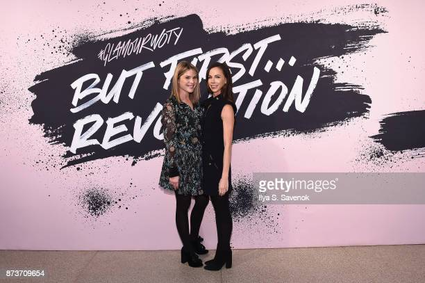 Women of the Year 2011 Jenna Bush Hager and Barbara Pierce Bush pose during Glamour Celebrates 2017 Women Of The Year Live Summit at Brooklyn Museum...