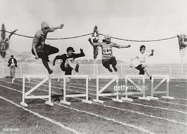 Women Olympics in Monte-Carlo . In 1923.