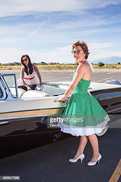 Women on a Roadtrip (1950's)