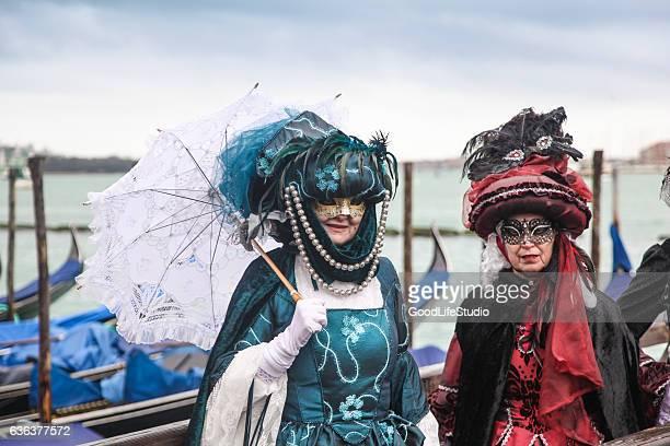Women on Venice Carnival