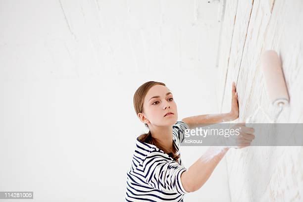 Mujeres de pintura