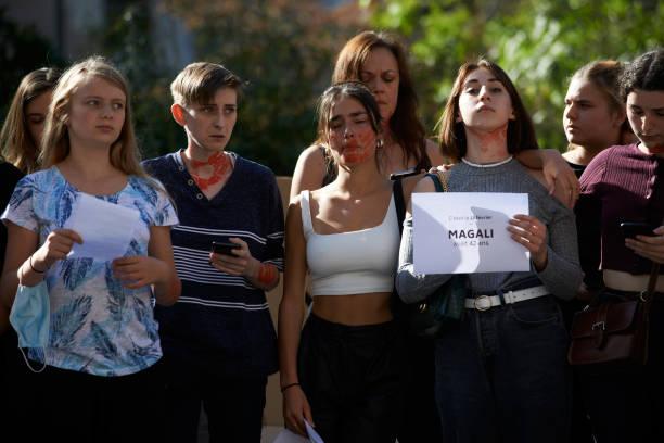 FRA: Die-in Against Feminicides